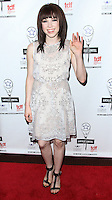 NEW YORK CITY, NY, USA - MAY 04: Carly Rae Jepsen at the 29th Annual Lucille Lortel Awards held at the NYU Skirball Center on May 4, 2014 in New York City, New York, United States. (Photo by Jeffery Duran/Celebrity Monitor)