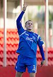 Hamilton Accies v St Johnstone..23.10.10  .Danny Grainger celebrates his goal .Picture by Graeme Hart..Copyright Perthshire Picture Agency.Tel: 01738 623350  Mobile: 07990 594431