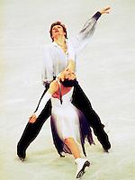 Anjelika Krylova and Oleg Ovsyannikov Russia 1997 World Championships, Lausanne. Photo copyright Scott Grant.