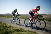 Tosh Van der Sande (BEL/Lotto-Soudal)<br /> <br /> 3 Days of West-Flanders 2015<br /> stage 2: Nieuwpoort - Ichtegem 184km