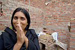 A female sex worker in a small Pakistani village.
