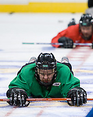Ryan Duncan (North Dakota 16) - The 2008 Frozen Four participants practiced on Wednesday, April 9, 2008, at the Pepsi Center in Denver, Colorado.
