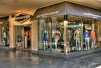 Blackjack, Clothing, Men's, Woman's, apparel, accessories, Kodak, Shopping, Center, Hollywood, Highland,  Hollywood, Boulevard, CA, High dynamic range imaging (HDRI or HDR)