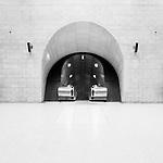 Southwark underground station, London, UK