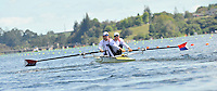 Hamilton, NEW ZEALAND.  USA  M2-.Bow  Deaglan McEACHERN and Ryan MONGAHAN, at the start of their heat of the men's pairs. 2010 World Rowing Championship on Lake Karapiro Monday 01.11.2010. [Mandatory Credit Peter Spurrier:Intersport Images].