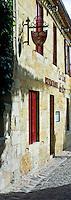 Restaurant Le Clos du Roy in St Emilion, Bordeaux, France