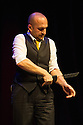 Edinburgh, UK. 13.08.13.  Mat Ricardo performs at the Big C Comedy Gala, in aid of Macmillan Cancer Support, as part of the Edinburgh Festival Fringe.  Photograph © Jane Hobson.