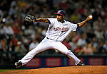 4 September 2009: Cleveland Indians' relief pitcher Tony Sipp on the mound against the Minnesota Twins at Progressive Field in Cleveland, Ohio. The Indians defeated the Twins 5-2 to take the first game of their three-game weekend series. Mandatory Credit: Ed Wolfstein Photo