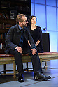 London, UK. 24.02.2015. MAN AND SUPERMAN, directed by Simon Godwin, opens in the Lyttelton, at the National Theatre. Picture shows: Ralph Fiennes (Jack Tanner), Indira Varma (Ann Whitefield). Photograph © Jane Hobson.