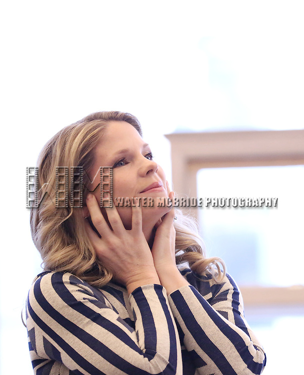 Kelli O'Hara performs at the 'The Bridges of Madison County' Media Day at the New 42nd Street Studios on December 16, 2013 in New York City.