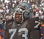 Oakland Raiders guard Frank Middleton (73) on Sunday, September 14, 2003, in Oakland, California. The Raiders defeated the Bengals 23-20.