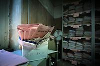 Archivio del servizio maternità. Archives of the maternity service.
