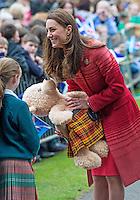 Kate, Duchess of Cambridge & Prince William visit Scotland