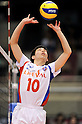 Yuya Yamaoka (FC Tokyo), MARCH 5, 2011 - Volleyball : 2010/11 Men's V.Premier League match between F.C.Tokyo 0-3 Sakai Blazers at Tokyo Metropolitan Gymnasium in Tokyo, Japan. (Photo by AZUL/AFLO).