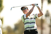 Apr. 2, 2006; Rancho Mirage, CA, USA; Karrie Webb tees off during the final round of the Kraft Nabisco Championship at Mission Hills Country Club. ..Mandatory Photo Credit: Darrell Miho.Copyright © 2006 Darrell Miho .