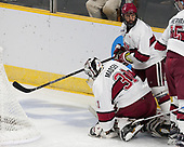 Merrick Madsen (Harvard - 31), Luke Esposito (Harvard - 9) - The Harvard University Crimson defeated the Air Force Academy Falcons 3-2 in the NCAA East Regional final on Saturday, March 25, 2017, at the Dunkin' Donuts Center in Providence, Rhode Island.