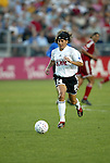 19 June 2003: Joy Fawcett of the San Diego Spirit. The WUSA World Stars defeated the WUSA American Stars 3-2 in the WUSA All-Star Game held at SAS Stadium in Cary, NC.