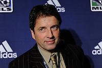 Toronto FC head coach Preki Radosavljevic during the MLS SuperDraft at the Pennsylvania Convention Center in Philadelphia, PA, on January 14, 2010.