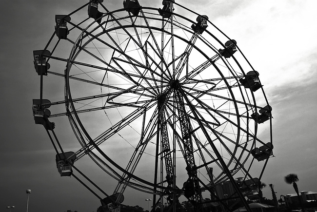 The Ferris wheel at Pier Park in Panama City Beach, Fla. Aug. 7, 2010.