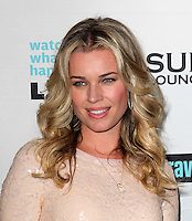Rebecca Romijn .Bravo's Andy Cohen's Book Release Party For &quot;Most Talkative: Stories From The Front Lines Of Pop Held at SUR Lounge, West Hollywood, California, USA..May 14th, 2012.headshot portrait sequins sequined pink peach   .CAP/ADM/KB.&copy;Kevan Brooks/AdMedia/Capital Pictures.