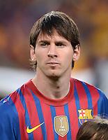 FUSSBALL   CHAMPIONS LEAGUE  HALBFINAL-RUECKSPIEL   2011/2012      FC Barcelona - FC Chelsea       24.04.2012 Lionel Messi (Barca)