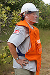 Bill Morse Observing Demining Operations