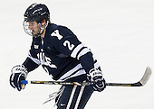 Gus Young (Yale - 2) - The Boston College Eagles tied the visiting Yale University Bulldogs 3-3 on Friday, January 4, 2013, at Kelley Rink in Conte Forum in Chestnut Hill, Massachusetts.