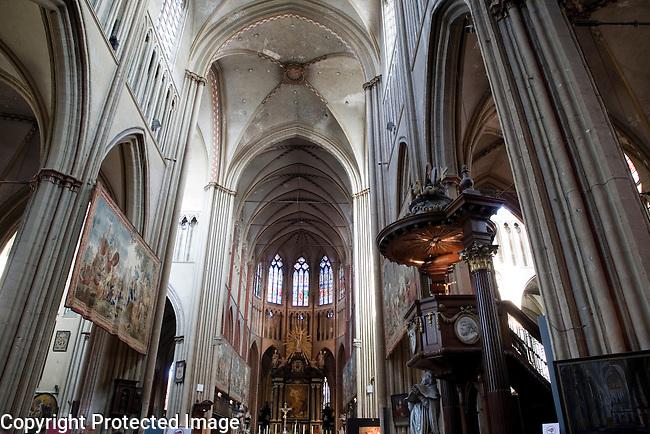 St Salvatorskathedraal - Saviour's Cathedral, Bruges, Belgium, Europe