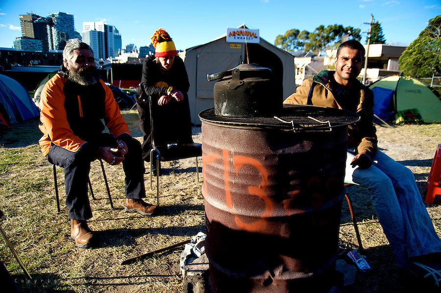 Aboriginal Tent Embassy Redfern, 05.07.14