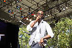 Q Parker Peforms at the 4th Annual R&B Fest 2012 Eric Benet, Salt-n-Pepa, Christopher Williams, Kenny Lattimore, Q Parker, DJ DWIZ Presented in Association with: Globe Star Media and WBLS held at SummerStage Central Park, NY 8/12/12