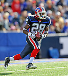 2 November 2008:  Buffalo Bills' cornerback Leodis McKelvin returns a kickoff for 44 yards in the first quarter against the New York Jets at Ralph Wilson Stadium in Orchard Park, NY. The Jets defeated the Bills 26-17 improving their record to 5 and 3 for the season...Mandatory Photo Credit: Ed Wolfstein Photo