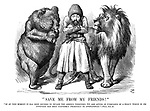 &quot;Save Me From My Friends!&quot;<br /> &quot;If at this moment it has been decided to invade the Ameer's territory, we are acting in pursuance of a policy which in its intention has been uniformly FRIENDLY to Afghanistan.&quot; - Times, Nov. 21.