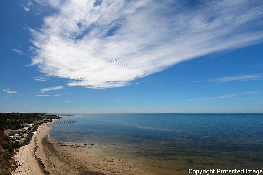 Gulf St Vincent at Billy Goat Flat, Yorke Peninsula, South Australia