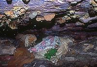 Aboriginal Burial Cave with bodies, Northern territory, Arnhem Land, Australia