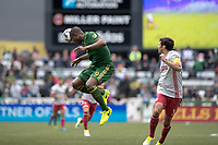 Portland, Oregon - Sunday May 14, 2017: Portland Timbers vs Atlanta United FC in a match at Providence Park. Final Score: Portland Timbers 1, Atlanta United FC 1