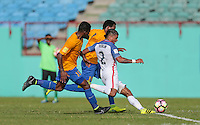 St. Vincent and the Grenadines - September 2, 2016: The U.S. Men's National team take a 2-0 first half lead over St. Vincent and the Grenadines in a World Cup Qualifier (WCQ) match at Arnos Vale Stadium.