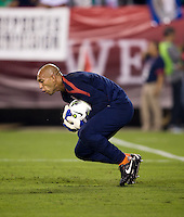 Tim Howard. The USMNT tied Mexico, 1-1, during their game at Lincoln Financial Field in Philadelphia, PA.