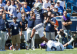 _88R4503..2012 FTB vs Weber State University..BYU - 45.Weber State - 6. .Photo by Jaren Wilkey/BYU..September 8, 2012..© BYU PHOTO 2012.All Rights Reserved.photo@byu.edu  (801)422-7322