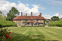 BNPS.co.uk (01202 558833).Pic: Savills/BNPS..***Please use full byline***..This quintessentially English property a short Aston Martin drive from the centre of London is leaving potential buyers shaken and stirred...Its the former home of James Bond star Roger Moore, where he lived when he shot his first three 007 movies in the 1970's.. .Sherwood House lies 20 miles west of central London in the village of Denham, Bucks.. .Moore's former home includes five bedrooms, a drawing room, study, library, gym, conservatory and of course a snooker room, wine cellar and swimming pool.. .The 11-acre property also has an annexe and guesthouse.. .Moore was the longest serving James Bond actor, spending 12 years in the role and featuring in seven Bond films from 1973 to 1985...Any potential buyers wanting to live the life of one of Her Majestys Secret Agents will have to find £4.5 million for the property.