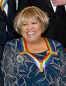 Gospel and blues singer Mavis Staples, one of the five recipients of the 39th Annual Kennedy Center Honors pose for a group photo following a dinner hosted by United States Secretary of State John F. Kerry in their honor at the U.S. Department of State in Washington, D.C. on Saturday, December 3, 2016.  The 2016 honorees are: Argentine pianist Martha Argerich; rock band the Eagles; screen and stage actor Al Pacino; gospel and blues singer Mavis Staples; and musician James Taylor.<br /> Credit: Ron Sachs / Pool via CNP