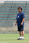 29 July 2006: U.S. assistant coach Bret Hall (USA). The United States Women's National Team trained at SAS Stadium in Cary, North Carolina, in preparation for an International Friendly match against Canada to be played on Sunday, July 30.