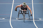 RIO DE JANEIRO - 11/9/2016:  Alexandre Dupont competes in the Men's 400m - T54 Heat at the Olympic Stadium during the Rio 2016 Paralympic Games in Rio de Janeiro, Brazil. (Photo by Matthew Murnaghan/Canadian Paralympic Committee
