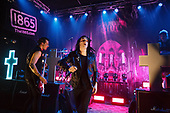 CREEPER - Sean Scott and Will Gould - performing live at The 1865 in Southampton UK - 31 Mar 2017.  Photo credit: Paul Harries/IconicPix