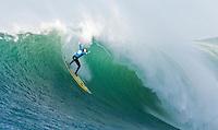 Tyler Smith.   Mavericks Surf Contest 2008.  Half Moon Bay, Ca.  January 12, 2008.