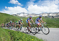 Picture by ASO/Alex Broadway/SWpix.com - 05/06/2016 - 12/06/2016 Cycling. Criterium du Dauphine 2016 - Mandatory credit ASO/Alex Broadway/SWpix<br /> Peloton - Thibaut Pinot<br /> <br /> copyright image - ASO/SWpix - simon@swpix.com