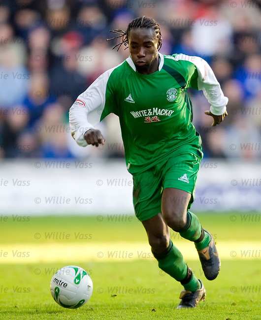 Thierry Gatheussi, Hibs