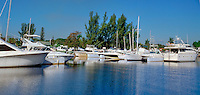 Fort Lauderdale, Florida, Water Reflections, Motor Boating, Power Yachts, Panorama