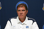13 December 2008: Elmar Bolowich, Head Coach of North Carolina.  The University of North Carolina Tar Heels held a press conference at Pizza Hut Park in Frisco, TX one day before playing in the NCAA Divison 1 Men's College Cup championship game.