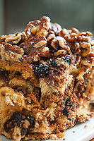 Chef David Teyf behind the counter at Lox, the new restaurant at the Museum of Jewish Heritage, which now has a take out counter. <br /> The signature Russian coffee cake. <br /> <br /> Danny Ghitis for The New York Times
