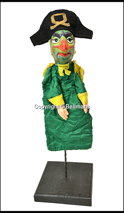 BNPS.co.uk (01202 558833)<br /> Pic: Bellmans/BNPS<br /> <br /> Pirate.<br /> <br /> Beats Blackpool - Punch&amp;Judy puppets that graced Cannes on the Cote d'Azur in the 1960's for sale.<br /> <br /> A collection of vintage puppets made for a French Punch and Judy puppeteer over 50 years ago have emerged for sale.<br /> <br /> The 10 papier mache pieces include wife-beating Mr Punch, his long-suffering partner, the crocodile, the policeman and the judge.<br /> <br /> The collection is also made up of five lesser-known characters that feature in the seaside show.<br /> <br /> These are the Chinaman, the black man, the pirate, the chauffeur and the skeleton.